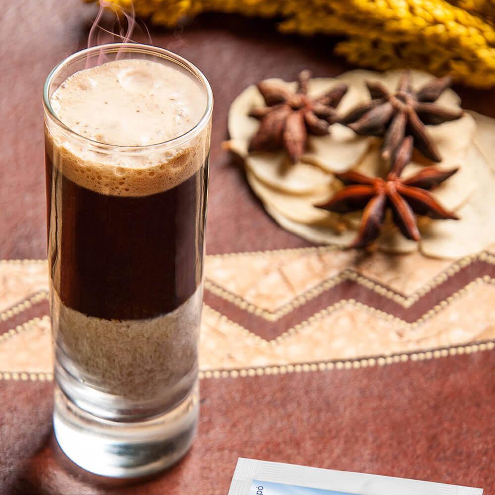 Café-com chocolate branco