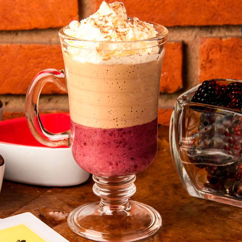 Café-com geléia de amora