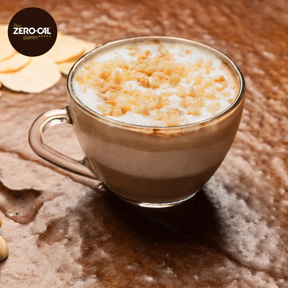 Café-Café com Macadâmia e Sorvete