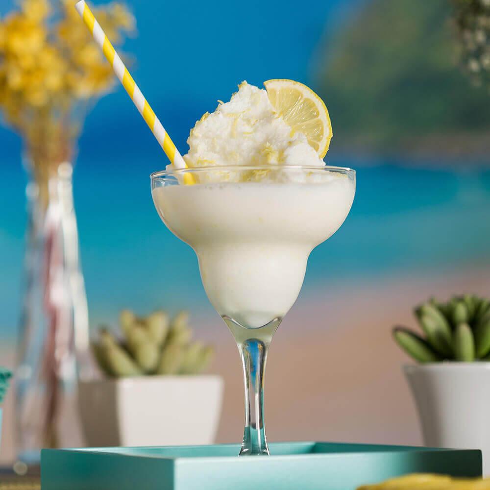 Suco-Frozen de Limão Siciliano e Iogurte Grego