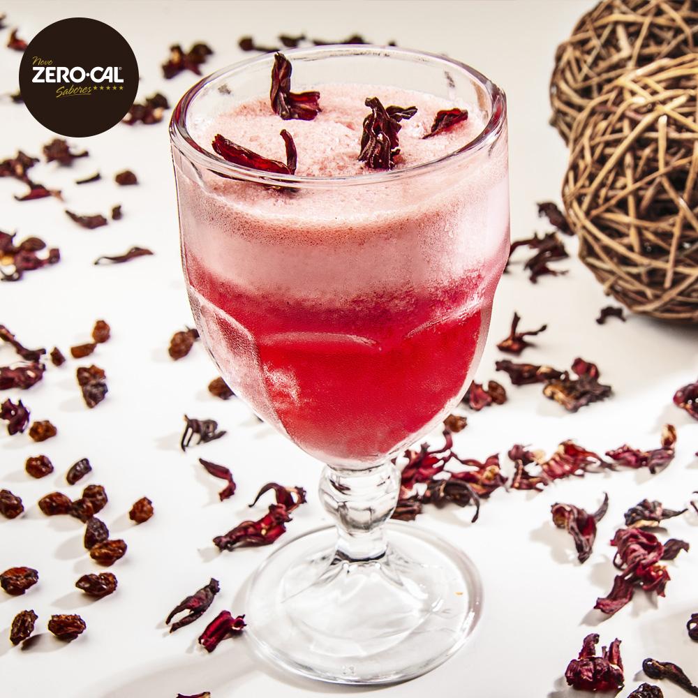 Drink-Hibisco com Uva-Passa