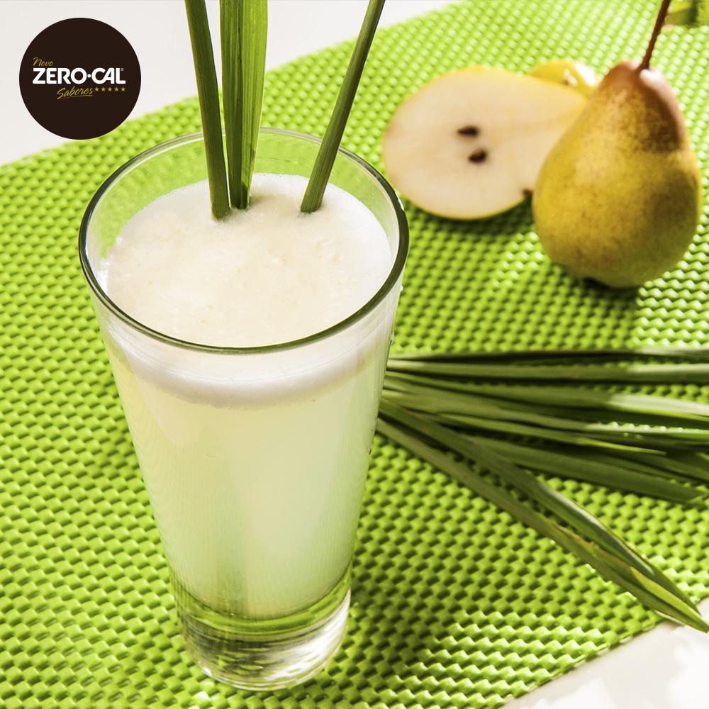 Drink-Pera, Capim-Santo e Água de Coco